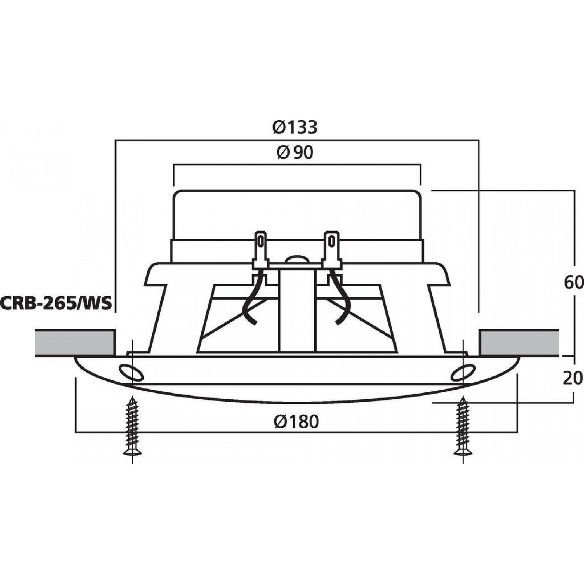 CARPOWER CRB-265/WS
