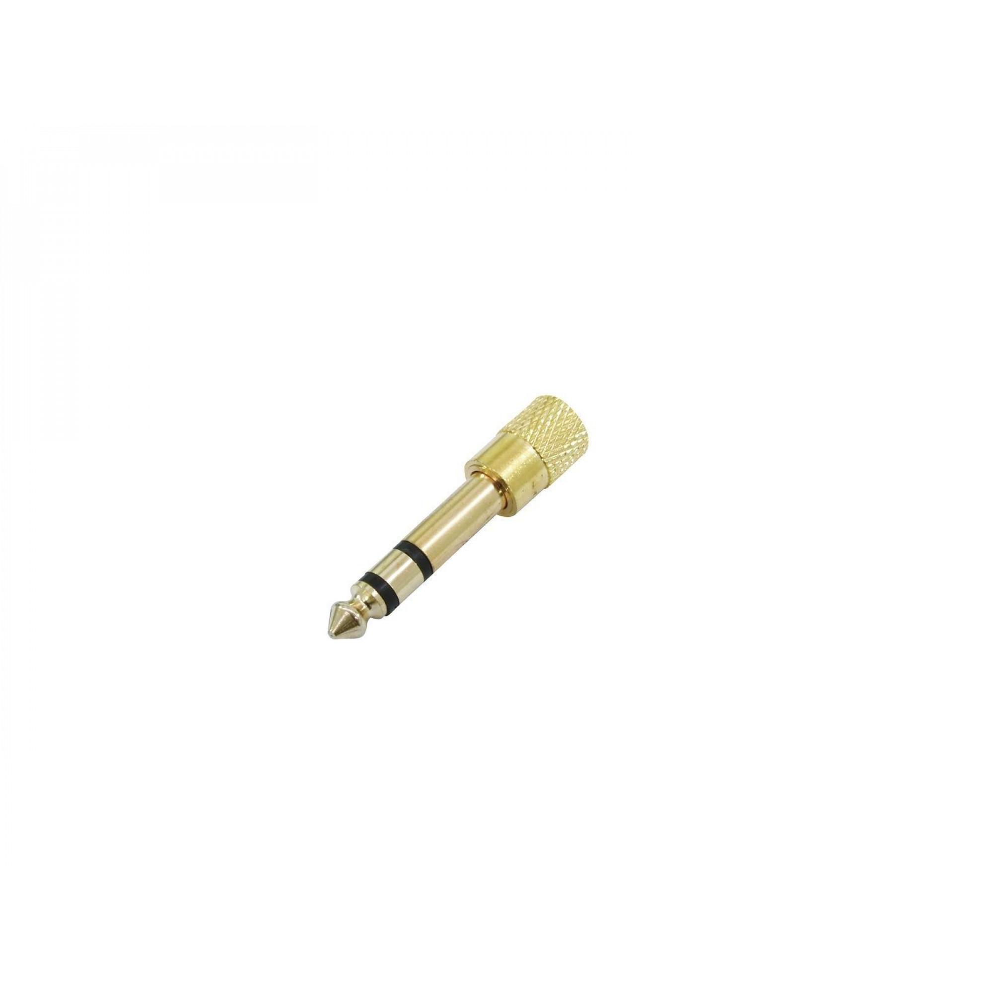 OMNITRONIC Adapter Jack stereo (M) / Jack Mini stereo (F)