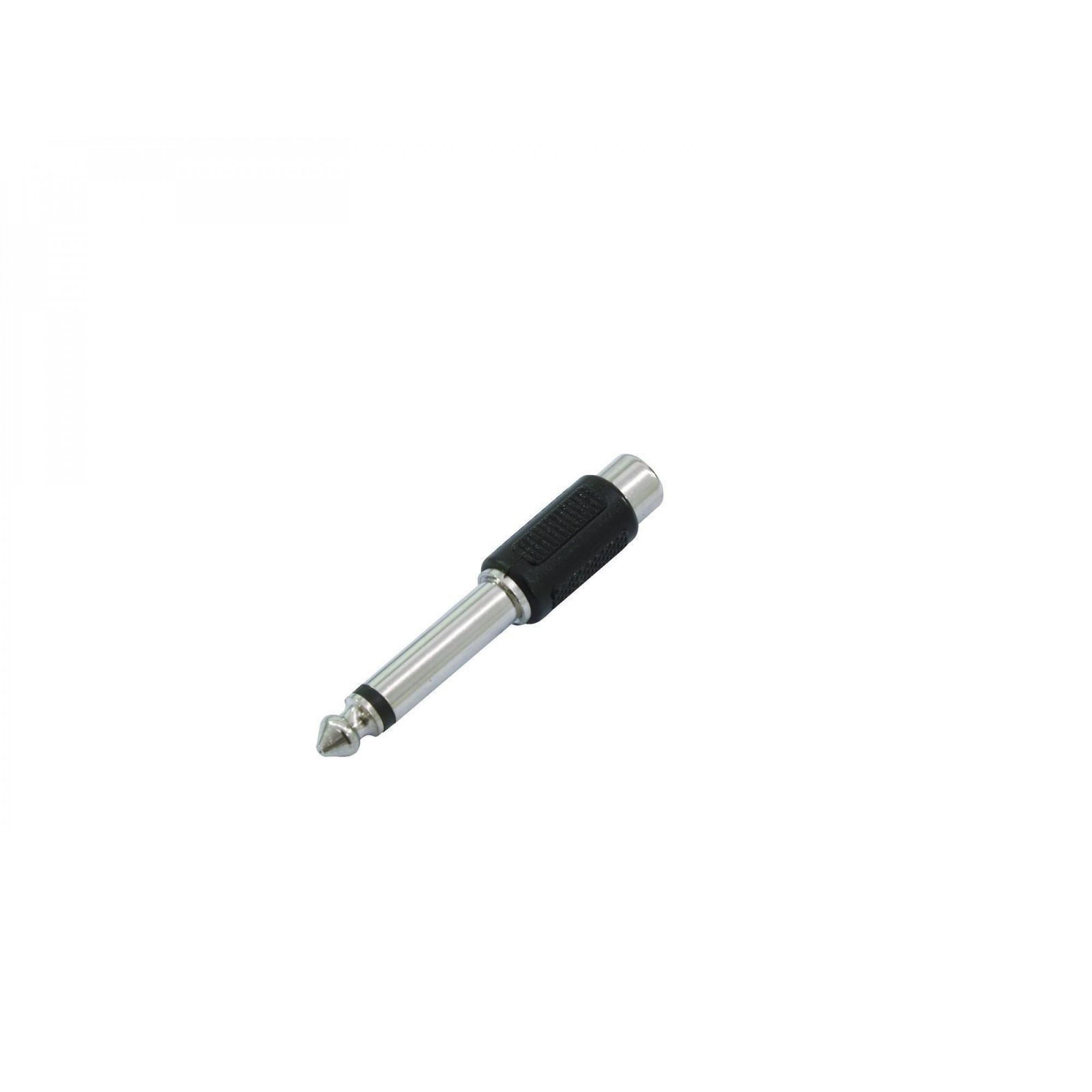 OMNITRONIC Adapter RCA (F) / Jack mono (M)